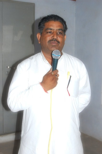 Speech by Sarpanch Mohan Lal Kiroriwal